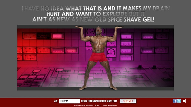 Old Spice site
