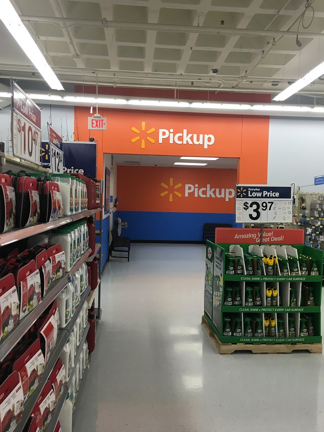 Walmart click and collect